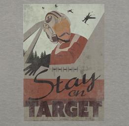 Stay On Target (Premium Tee)