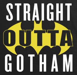 Straight Outta Gotham (Premium Tee)