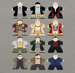 Doctor Who Meeples (Premium Tee)