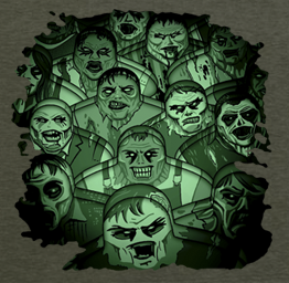 Zombie Hoarde (Premium Tee)