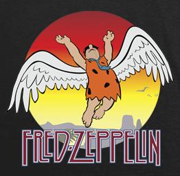 Fred Zeppelin (Premium Tee)