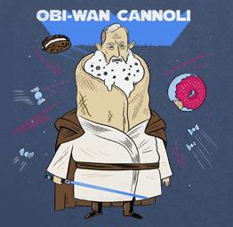 Obi Wan Cannoli (Premium Tee)