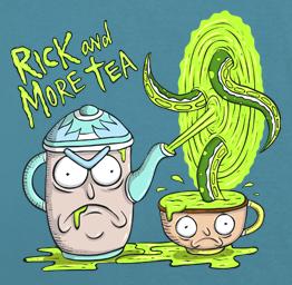 Rick and More Tea (Premium Tee)