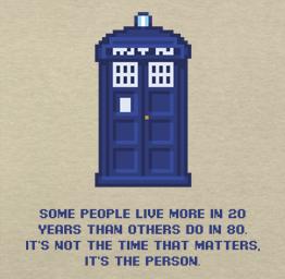 Dr Who, Tardis (Premium Tee)