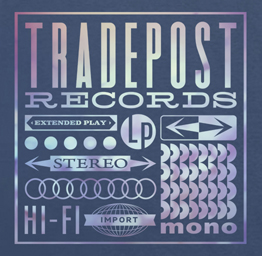 Tradepost Records Tee (Vintage Lp Elements)