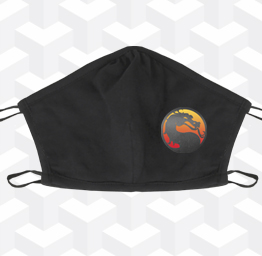 Mortal Kombat (2 Layer Cotton Face Mask)
