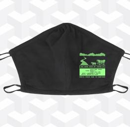 Oregon Trail (2 Layer Cotton Face Mask)