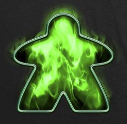 Green Fire Meeple