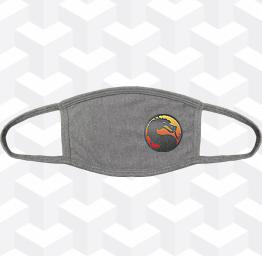 Mortal Kombat (2 Layer Cotton Face Mask w/ Ear Loops)
