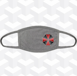 Umbrella Corp. (2 Layer Cotton Face Mask w/ Ear Loops)