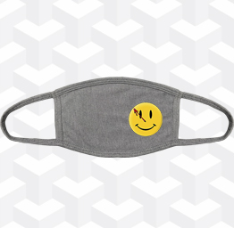 Watchmen (2 Layer Cotton Face Mask w/ Ear Loops)