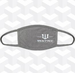 Wayne Enterprises (2 Layer Cotton Face Mask w/ Ear Loops)