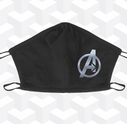 Avengers (2 Layer Cotton Face Mask)