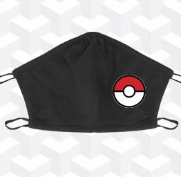 Pokémon pokéball  (2 Layer Cotton Face Mask)