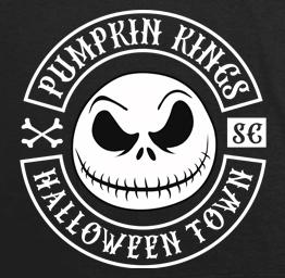 Pumpkin Kings (Biker Patch Styled)