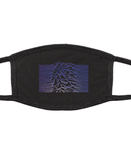 Unknown Pleasures  (2 Layer Cotton Face Mask w/ Ear Loops)