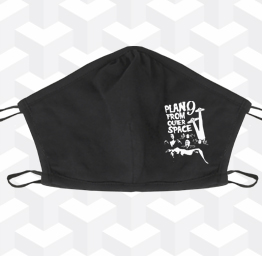 Plan 9 from Outer Space (2 Layer Cotton Face Mask)