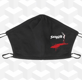 Suspiria (2 Layer Cotton Face Mask)