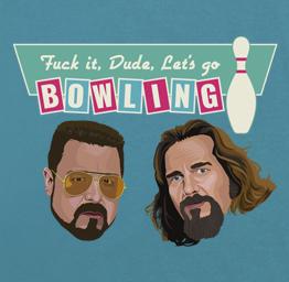 The Dude & Walter, The Big Lebowski (Premium Tee)