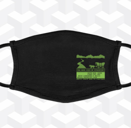 Oregon Trail (Premium Face Mask w/ Ear Loops)