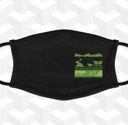Oregon Trail (Premium Face Mask w/ Ear Loops)