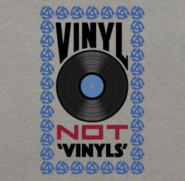 Vinyl, Not, 'Vinyls' (Premium Tee)