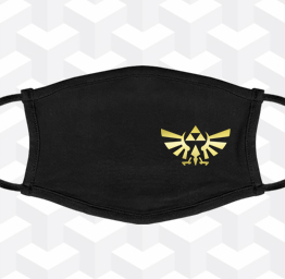 Zelda Tri-Force (Premium Face Mask w/ Ear Loops)